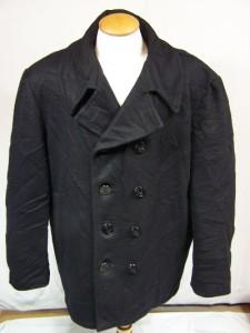 A naval pea-coat