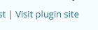 """Visit plugin site"" link"